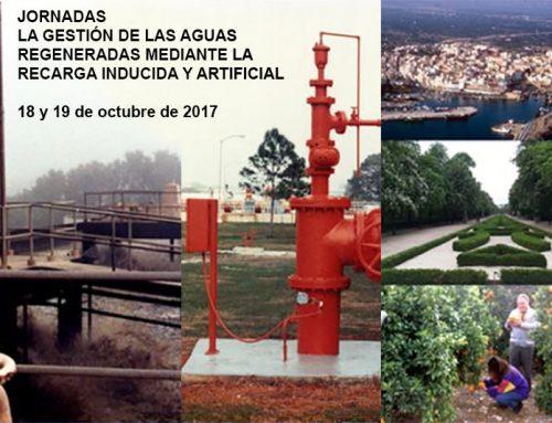 Participación en la Jornada de gestión de las aguas regeneradas mediante recarga inducida y artificial