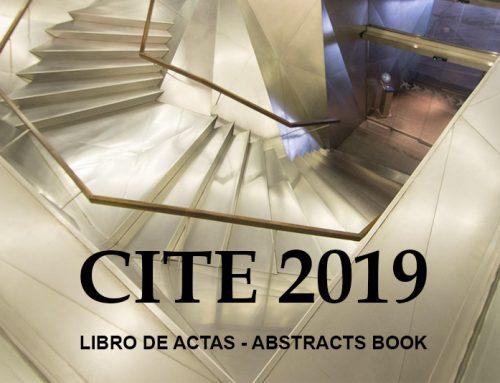 Publicado el Libro de Actas del CITE 2019