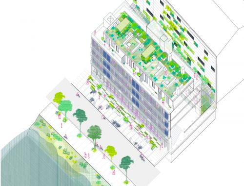 Rehabilitation of the administrative building at 158 Hochbergerstrasse, Basel. Architecture Competition