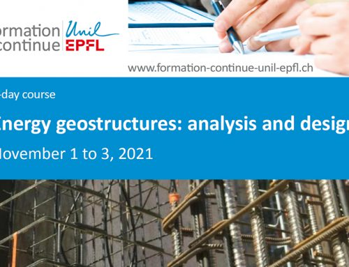 Luis de Pereda Visiting Proffesor for the Course Energy Geostructures: Analysis and Desing – EPFL